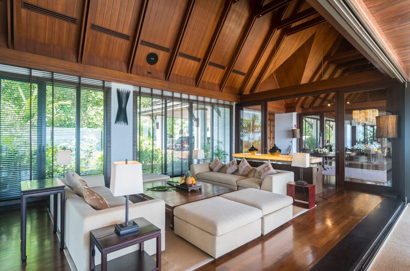 Villa Aye Indoor Living Area | Kamala, Phuket