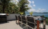 Villa Benyasiri Outdoor Dining Area | Phuket, Thailand