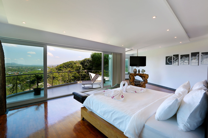Villa Beyond Bedroom and Balcony | Bang Tao, Phuket