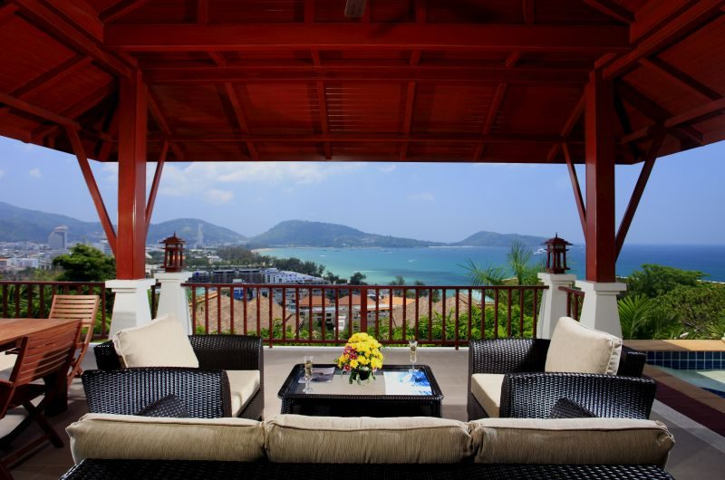 Villa Cattleya C10 Outdoor Lounge | Phuket, Thailand