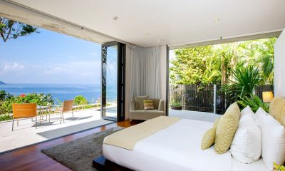 Villa Hale Malia Bedroom with Sea View | Kamala, Phuket