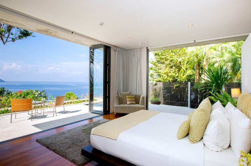 Villa Hale Malia Bedroom with Sea View | Kamala, Phuket