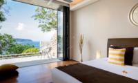 Villa Hale Malia Bedroom and Balcony | Kamala, Phuket