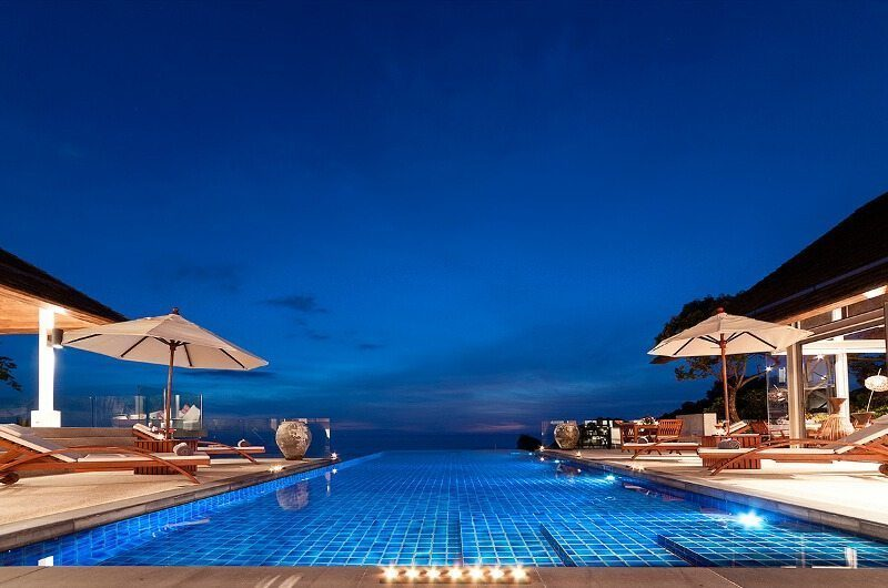 Villa Lomchoy Night View | Kamala, Phuket
