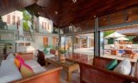 Villa Lomchoy Indoor Living Area | Kamala, Phuket