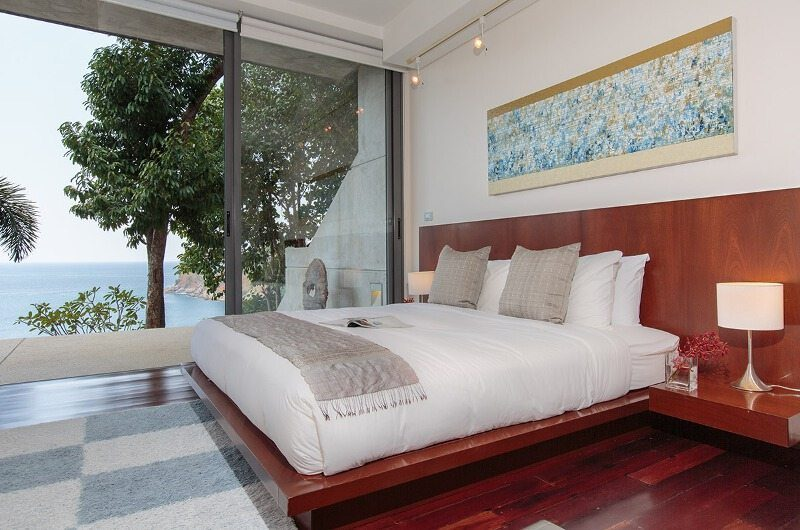 Villa Lomchoy Bedroom and Balcony | Kamala, Phuket