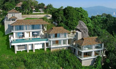 Villa Minh Aerial Shot with View | Kamala, Phuket