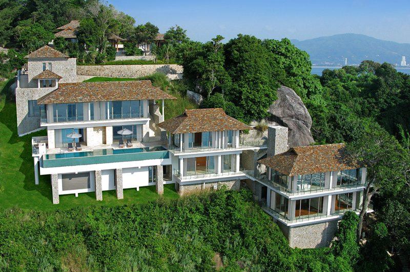 Villa Minh Aerial Shot with View | Kamala, Phuket
