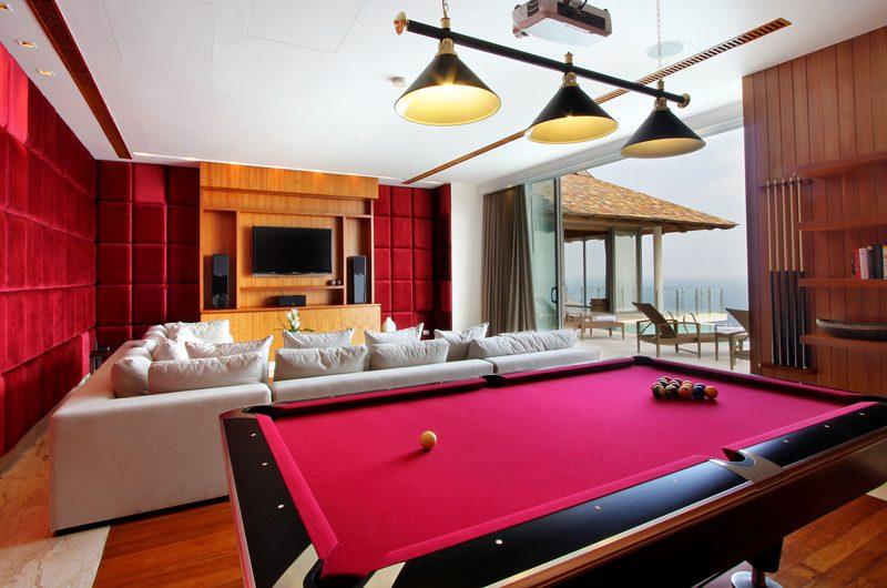 Villa Minh Entertainment Room with Pool View | Kamala, Phuket