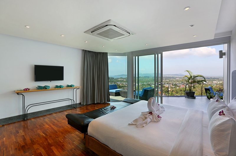 Villa Namaste Bedroom with Sea View | Bang Tao, Phuket