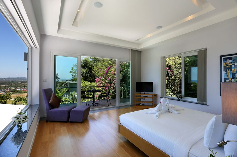 Villa Namaste King Size Bed with View | Bang Tao, Phuket