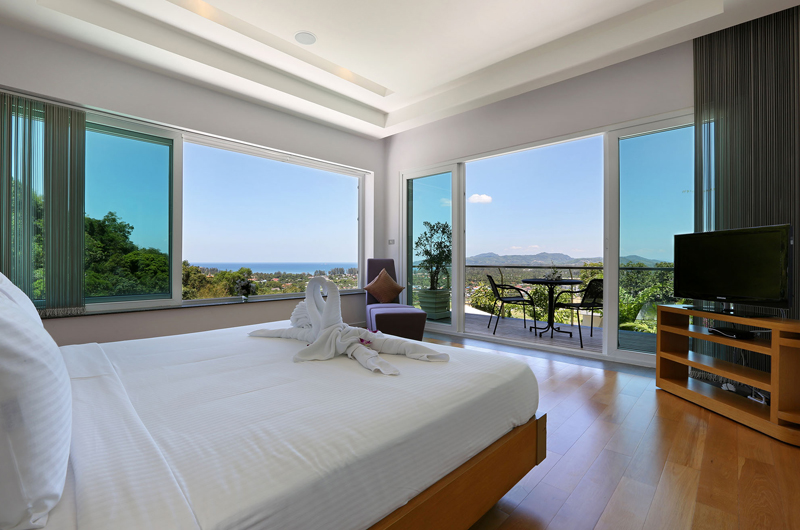 Villa Namaste Bedroom View | Bang Tao, Phuket