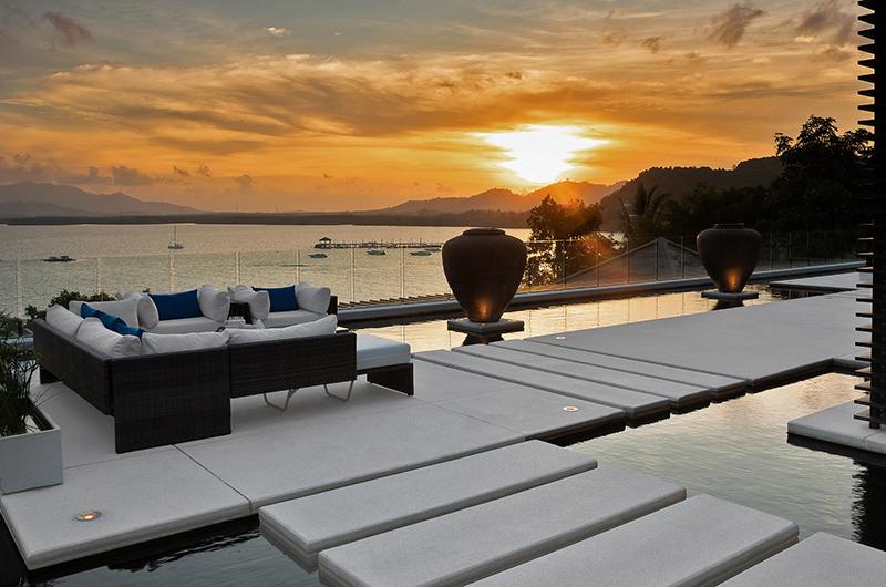 Villa Padma Outdoor Seating   Cape Yamu, Phuket