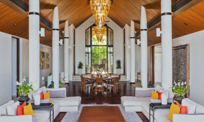 Villa Padma Spacious Living Room   Cape Yamu, Phuket