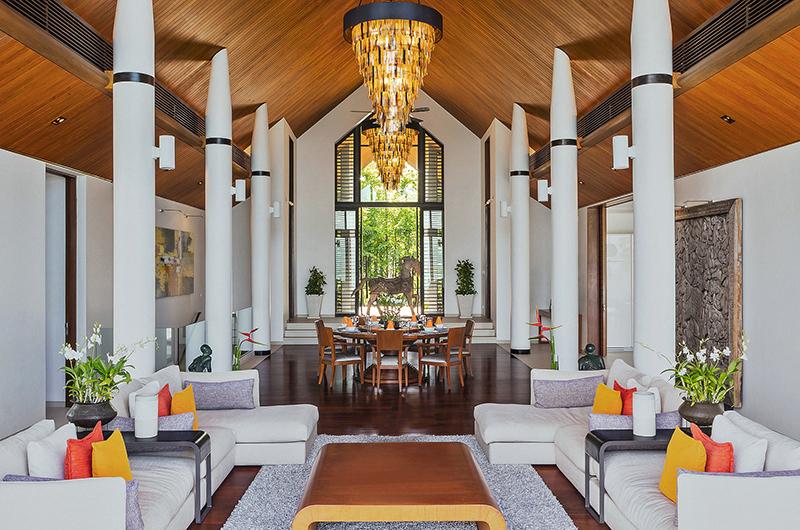 Villa Padma Spacious Living Room | Cape Yamu, Phuket