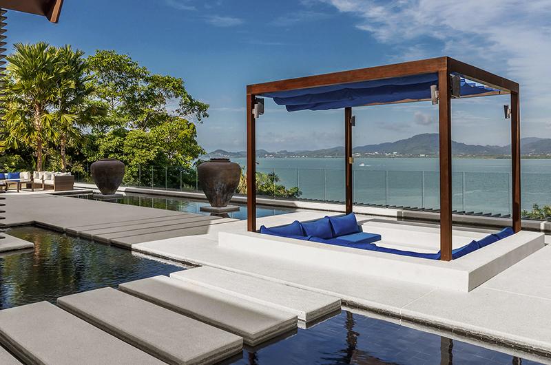 Villa Padma Sunken Lounge   Cape Yamu, Phuket