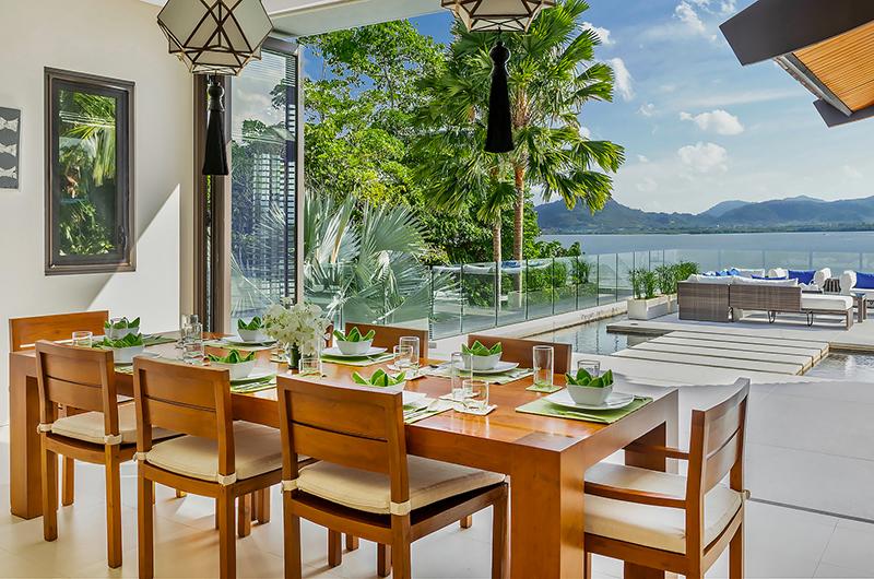 Villa Padma Open Plan Dining Table   Cape Yamu, Phuket