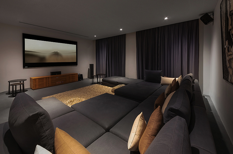 Villa Padma Cinema Room | Cape Yamu, Phuket