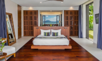 Villa Padma Bedroom with Wooden Deck   Cape Yamu, Phuket