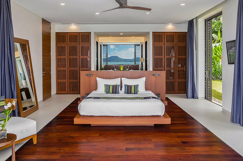 Villa Padma Bedroom with Wooden Deck | Cape Yamu, Phuket