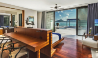 Villa Padma Bedroom with Study Table   Cape Yamu, Phuket