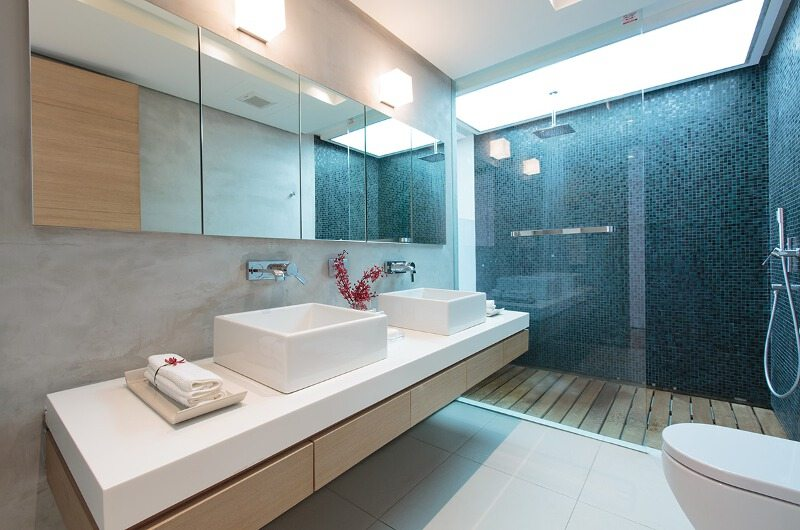 Villa Saengootsa Guest Bathroom   Phuket, Thailand