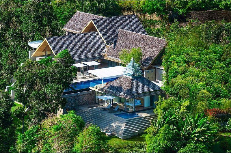 Villa Saengootsa Bird's Eye View   Phuket, Thailand