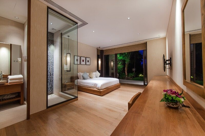 Villa Sawarin Guest Bedroom One Side View | Phuket, Thailand