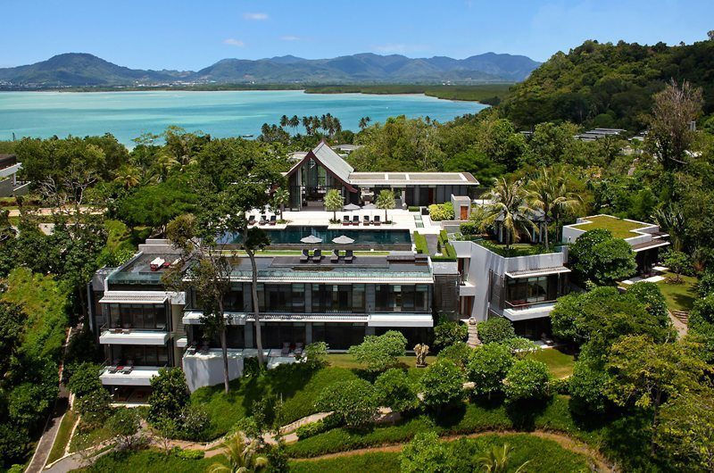 Villa Sawarin Bird's Eye View | Phuket, Thailand