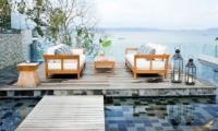 Villa Sawarin Pool Side Lounge | Phuket, Thailand