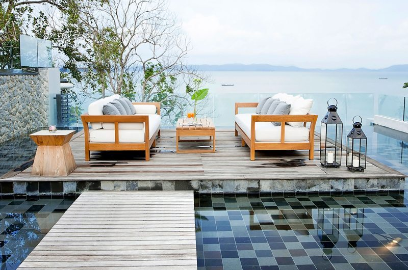Villa Sawarin Pool Side Lounge | Phuket, Thailand