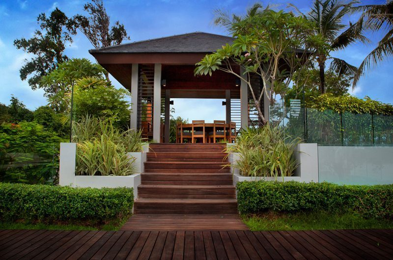 Villa Sawarin Outdoor Dining | Phuket, Thailand