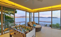 Villa Wang Nam Jai Living Area with Sea View | Kamala, Phuket