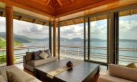 Villa Wang Nam Jai Lounge Area with Sea View | Kamala, Phuket