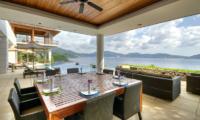 Villa Wang Nam Jai Outdoor Dining | Kamala, Phuket