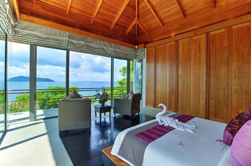 Villa Wang Nam Jai Bedroom and Balcony | Kamala, Phuket
