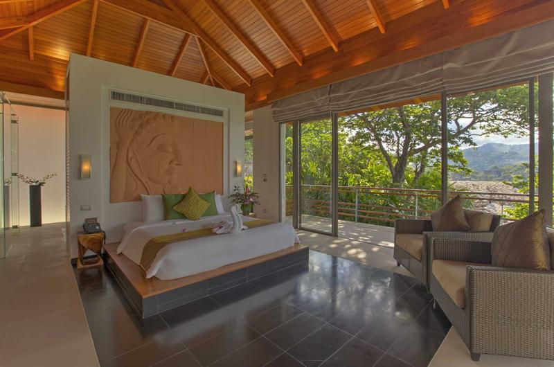 Villa Wang Nam Jai Bedroom View | Kamala, Phuket