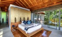 Villa Wang Nam Jai Bedroom with Wooden Floor | Kamala, Phuket