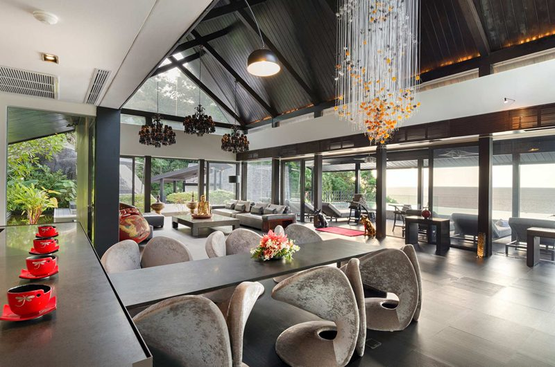 Villa Yin Living and Dining Area | Kamala, Phuket