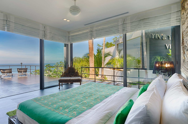 Villa Yin Bedroom with Sea View | Kamala, Phuket