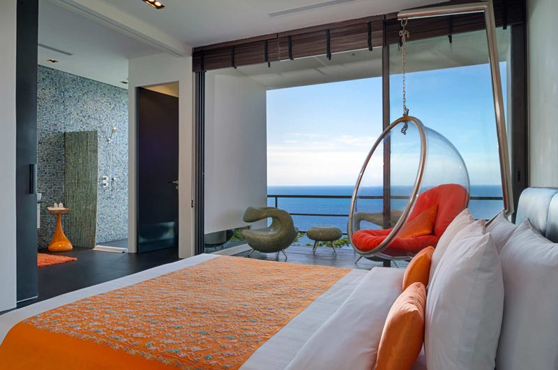 Villa Yin Bedroom and Balcony | Kamala, Phuket