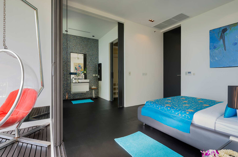 Villa Yin Bedroom and En-suite Bathroom | Kamala, Phuket