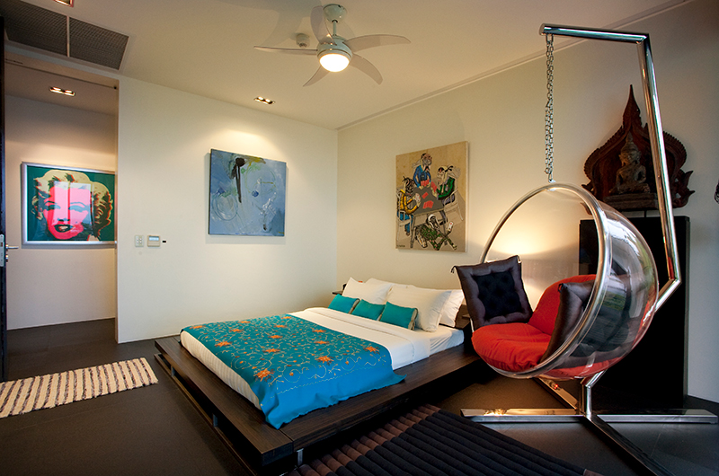 Villa Yin Bedroom Area | Kamala, Phuket