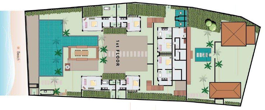 Ban Mekkala Floorplan | Laem Sor, Koh Samui
