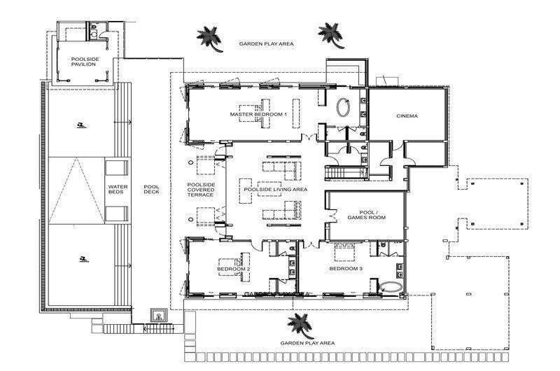 Villa Padma Floorplan | Phuket, Thailand