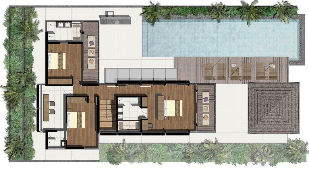 Villa Roxo Floorplan | Natai, Phang Nga