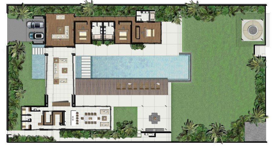 Villa Tievoli Floorplan | Natai, Phang Nga
