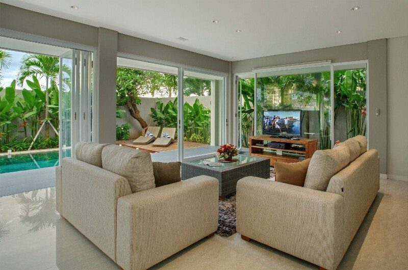 Villa Delmar Living Room | Canggu, Bali