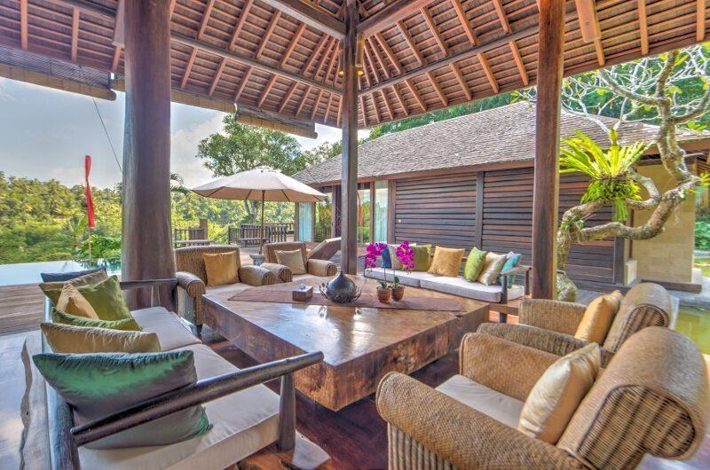 Villa Kamaniiya Open Plan Living Room | Ubud, Bali