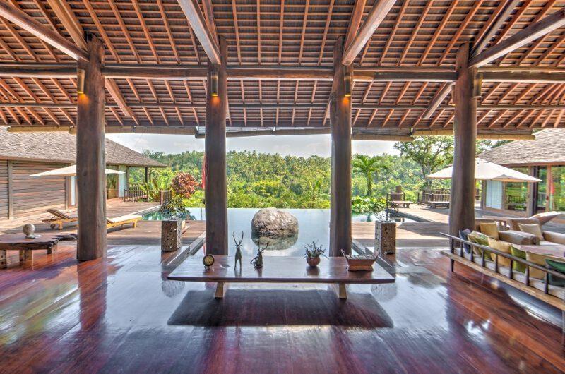 Villa Kamaniiya Pool Side Living Area | Ubud, Bali